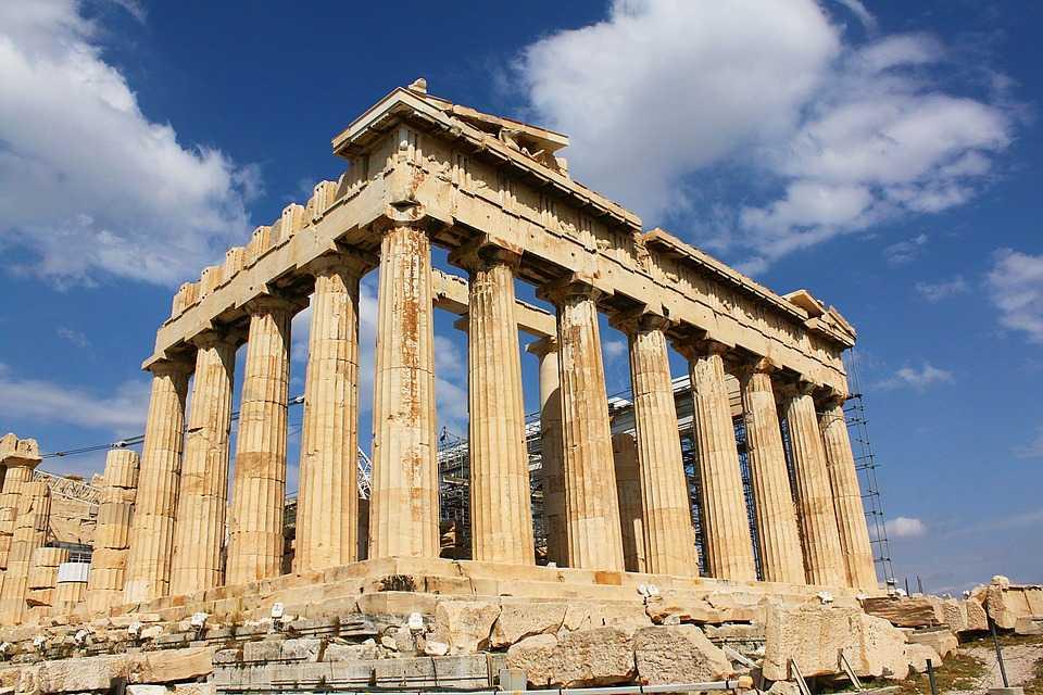 Греция Парфенон